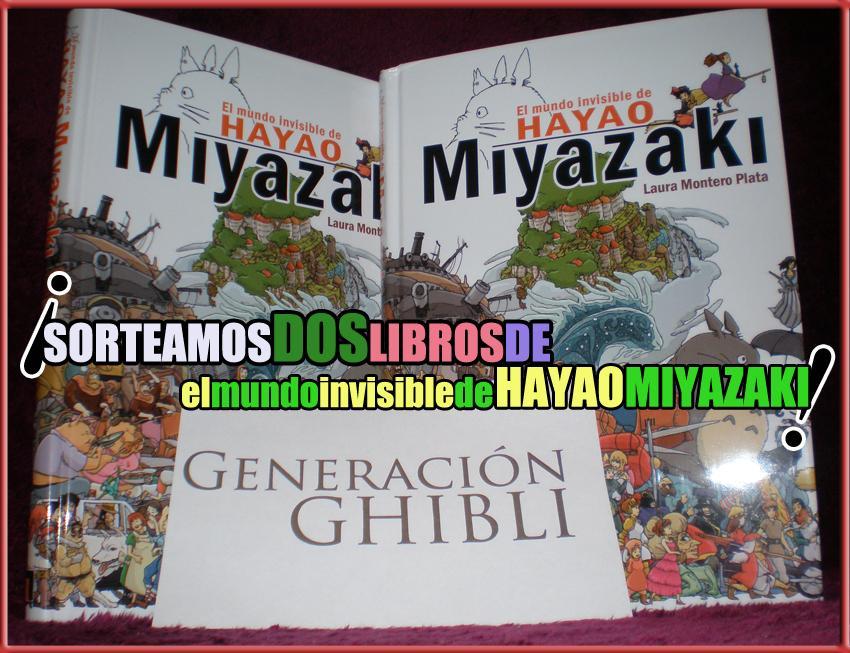 ¡Sorteamos dos libros de 'El mundo invisible de Hayao