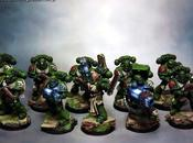 IMAGINATION Miniature Painting Service: Dark Angels Tactical Squad
