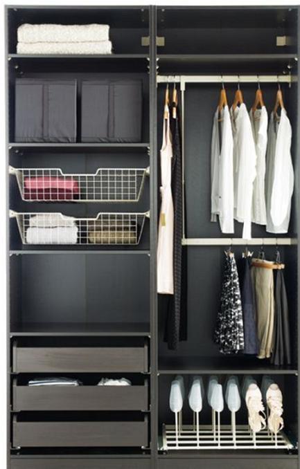 Ideas para distribuir un vestidor paperblog for Closet modernos con zapatera