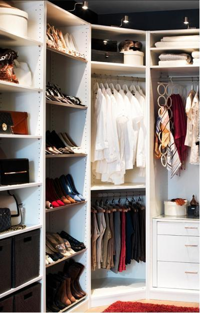 Ideas para distribuir un vestidor paperblog - Baldas para zapatos ...