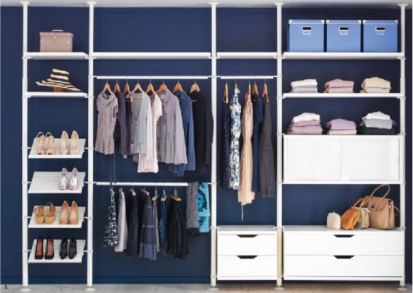 Ideas para distribuir un vestidor paperblog - Como distribuir armario empotrado ...