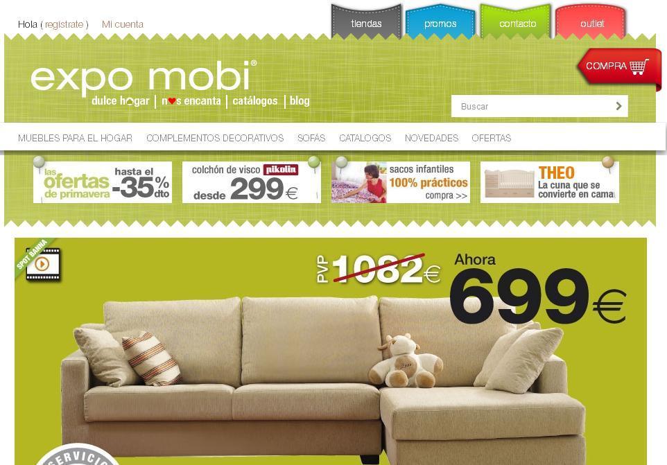 Muebles expo mobi y su nueva p gina web paperblog for Paginas muebles