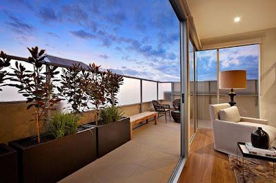 balcones minimalistas - Decoracion Balcones