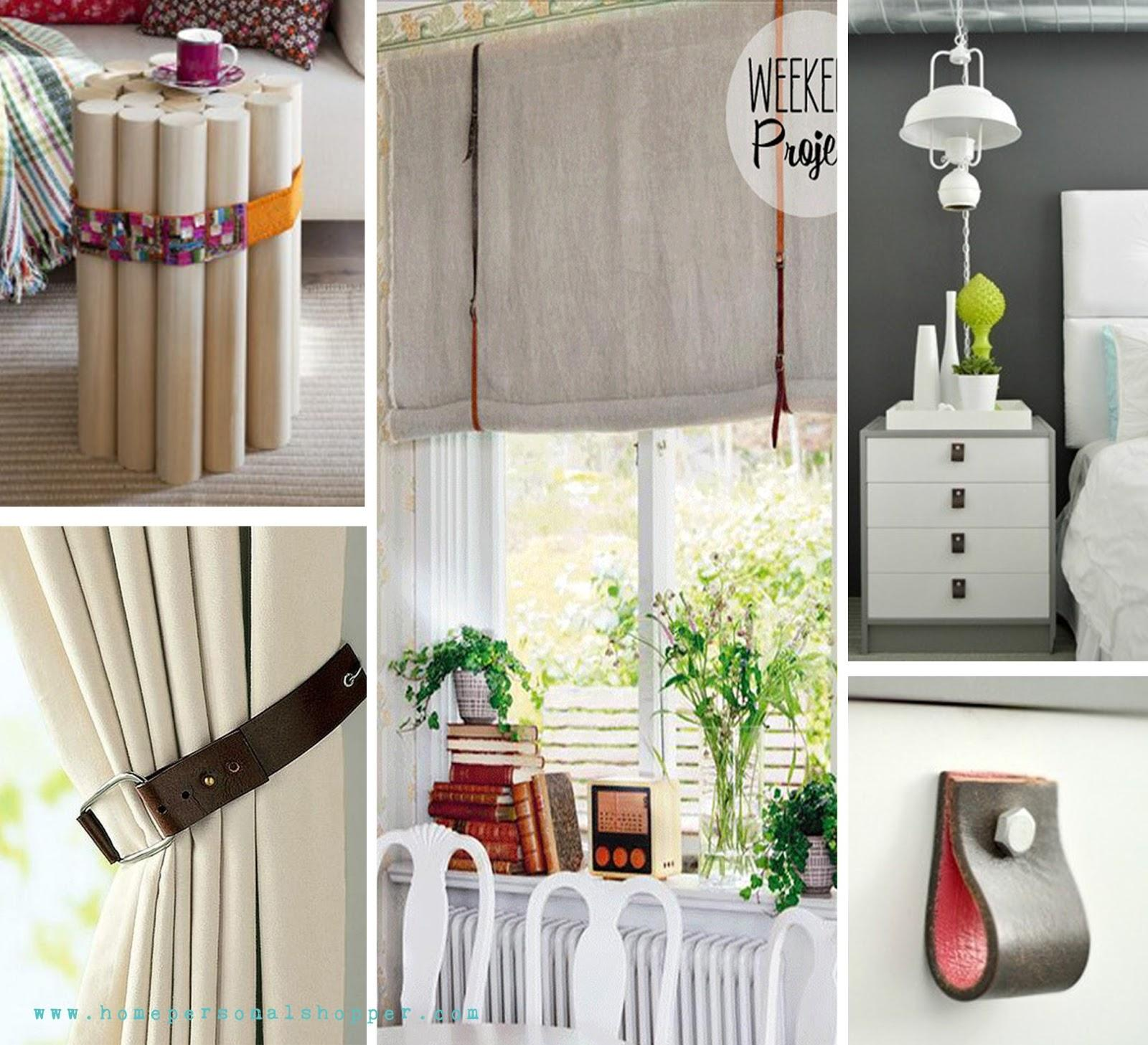 Reutilizando cinturones paperblog - Manualidades decoracion hogar ...