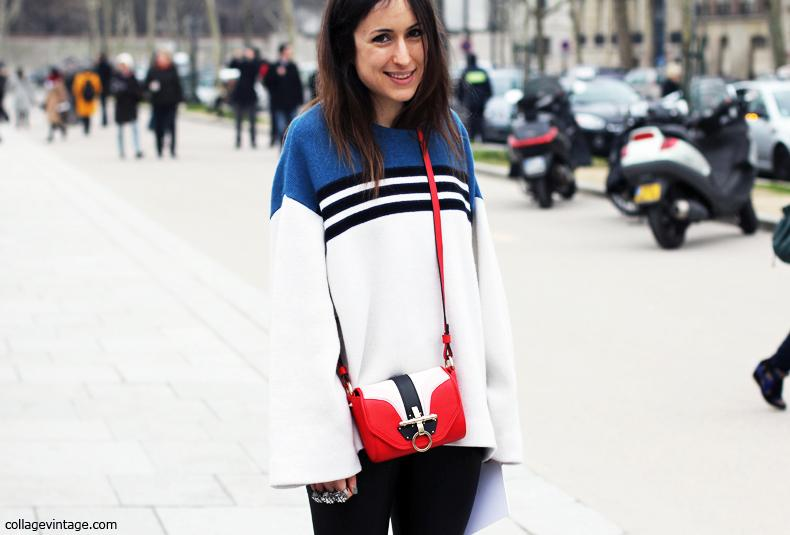 Say Cheese! Tricolor Jumper