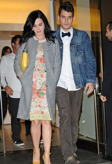 Katy Perry y John Mayer / Foto: INF Daily