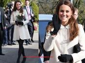 Consigue abrigo blanco Kate Middleton vestido libras