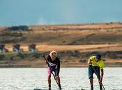 Baxter impuso primera etapa circuito mundial stand paddle race realizada natales