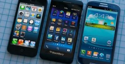 ¿Cuál es el mejor? iPhone, Galaxy o BlackBerry