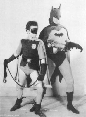 Batman (1943 Serial) Batman y Robin