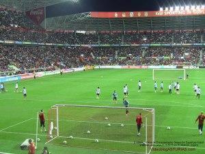Entrenamiento Gijon 21-3 previo al España Finlandia La Roja