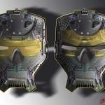 Diseño de Harald Belker para Iron Man