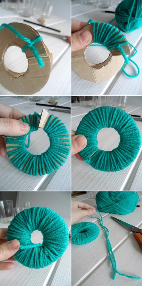 Cómo hacer pompones de lana - Paperblog