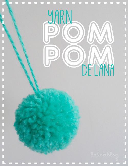 C mo hacer pompones de lana paperblog - Como hacer pompones de lana rapido ...