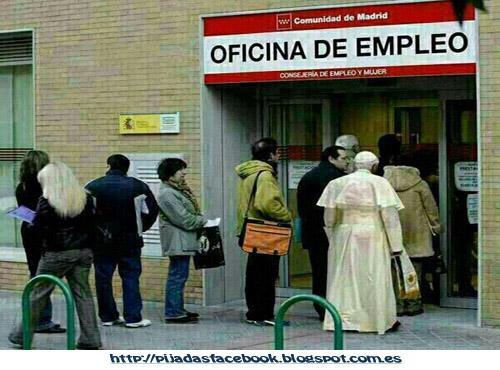 El vaticano suspensi n de pagos paperblog for Oficina de empleo de majadahonda