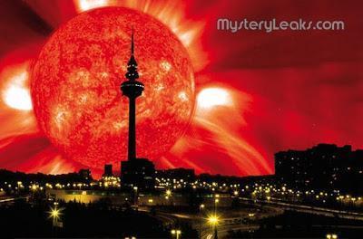 Explosión solar desencadena lluvia de fuego coronal