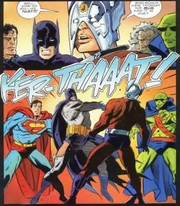 La relación de Batman con los Nuevos Dioses...
