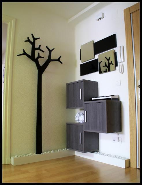 diy espejos para un recibidor con un rbol perchero swedese tambin diy