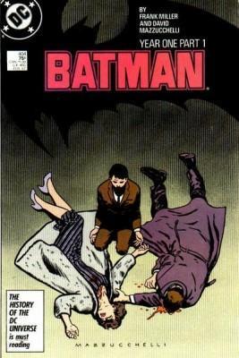 Batman #404 Año Uno Miller y Mazzucchelli