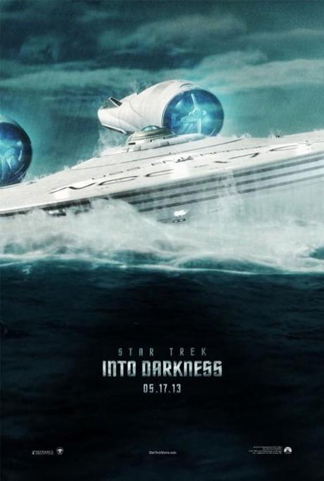 Star Trek en la oscuridad teaser poster
