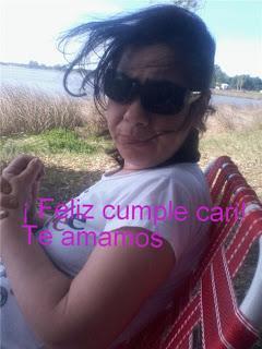¡ Feliz cumpleaños Cari !!