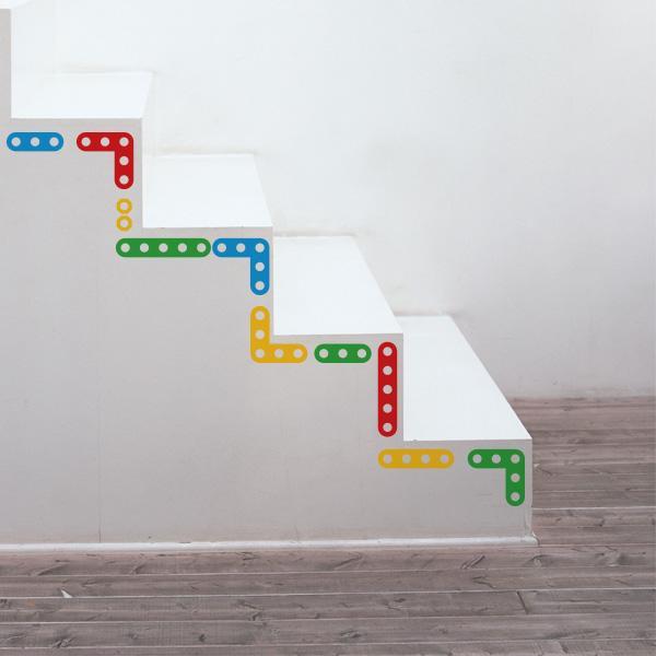 10 ideas para colocar un vinilo decorativo paperblog - Vinilos para escaleras ...