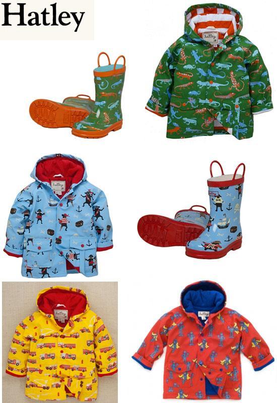 Impermeables y botas de agua para niños Paperblog