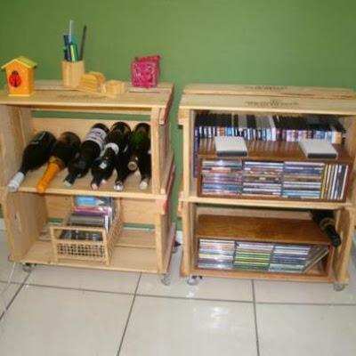 Decora tu casa reciclando cajas de fruta paperblog - Como decorar reciclando ...