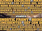 Cartel distribución días Derrame Rock 2013