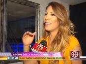 Delly Madrid revela Evan Piccoloto volverá Perú Sully Sáenz