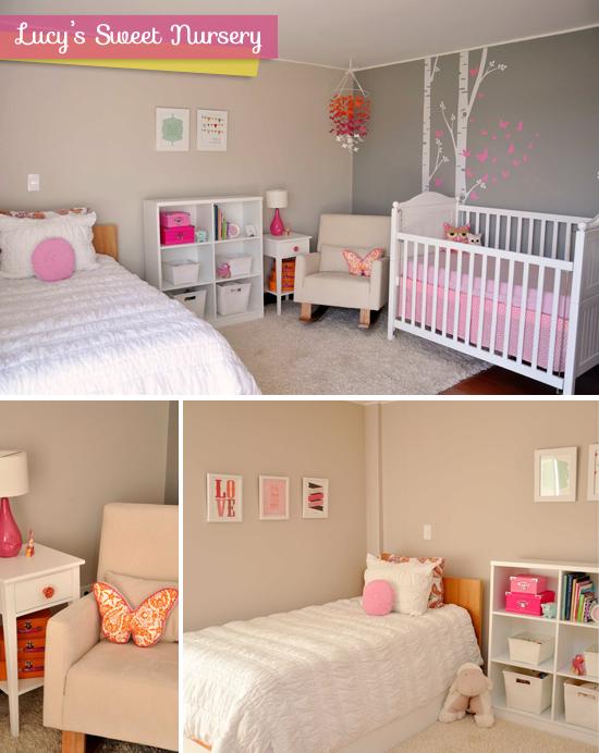2x1 dormitorio de bebe y de ni a paperblog - Dormitorios bebe nina ...