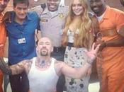 Lindsay Lohan graba escena cárcel Anger Management