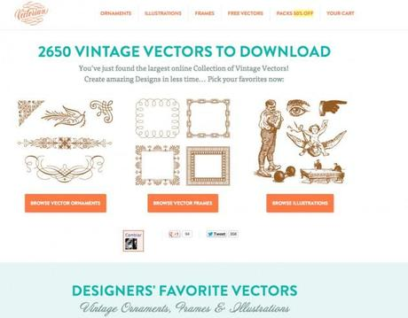 Vectores-Vintage