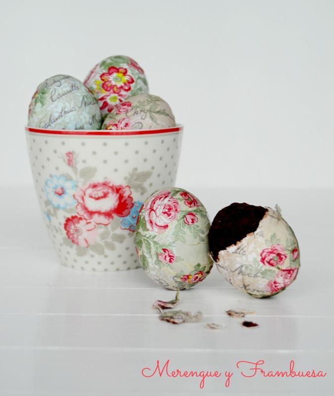 Huevos de pascua decorados con sorpresa paperblog - Huevos decorados de pascua ...