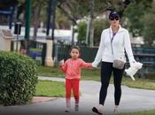 Alicia Machado pasea hija también Alejandro Sanz (FOTOS)