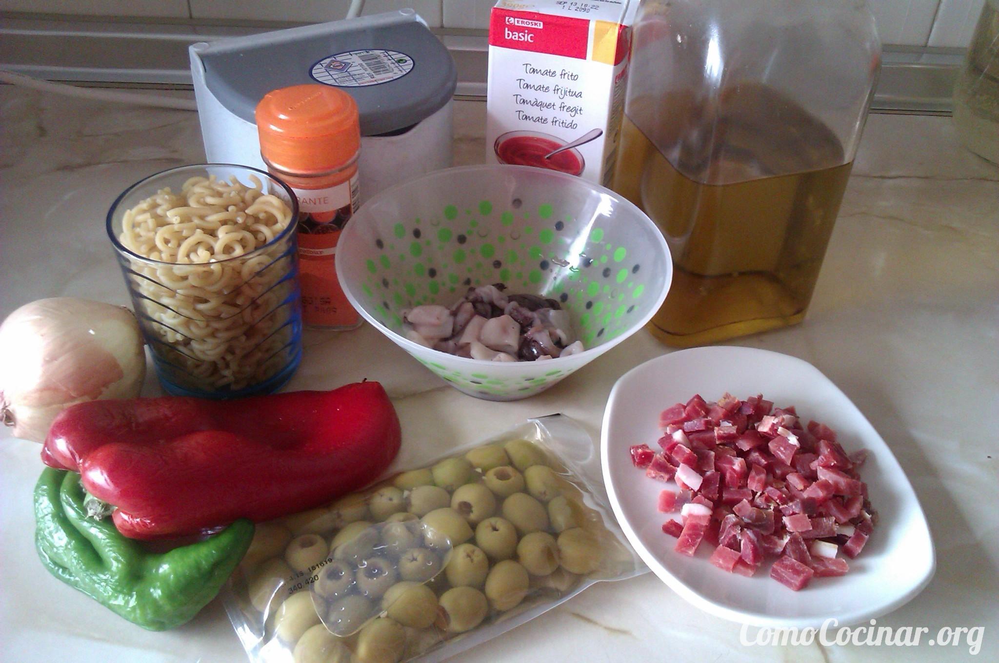 c mo cocinar fideu con calamares y jam n paperblog