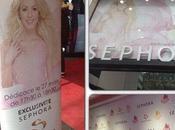Shakira presentó fragancia París bastante éxito