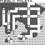 Mapa pokémon azul y rojo