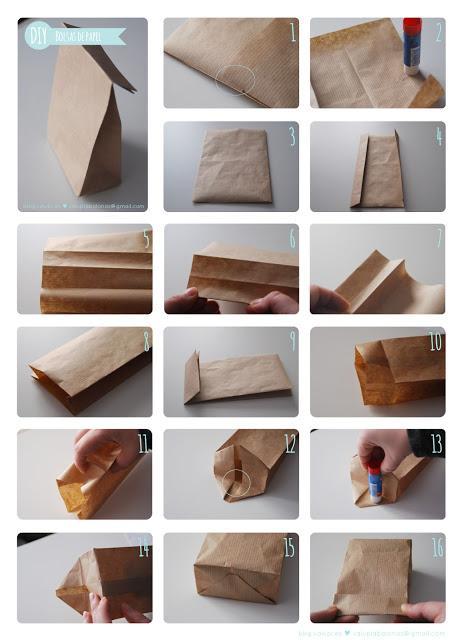 Diy bolsa de papel para regalos la mar de chulos paperblog - Bolsa de papel para regalo ...