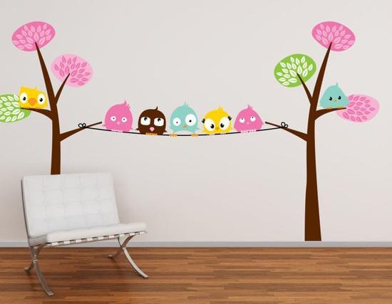 decoracion pared infantil: