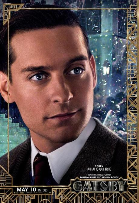 """Colección de seis pósters individuales de """"El Gran Gatsby"""""""