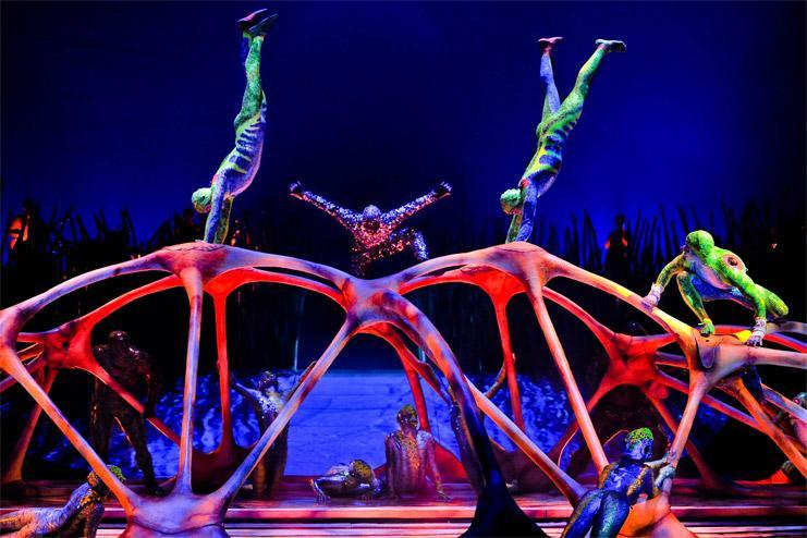 El espectáculo del Circo Soleil ya llegó al Poliedro de Caracas