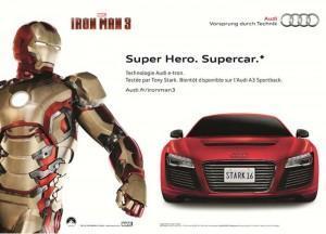 Audi en Iron Man 3