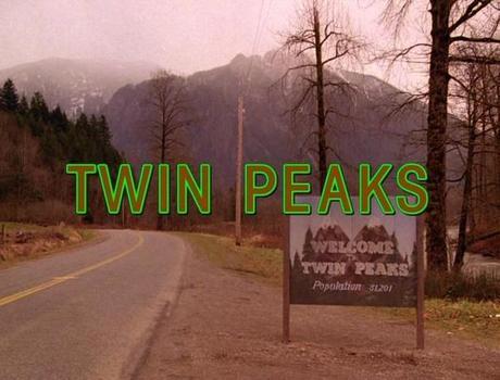Twin Peaks logo serie David Lynch