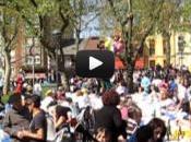 Desfile carrozas tras Comida Calle Aviles 2013-Video fotos