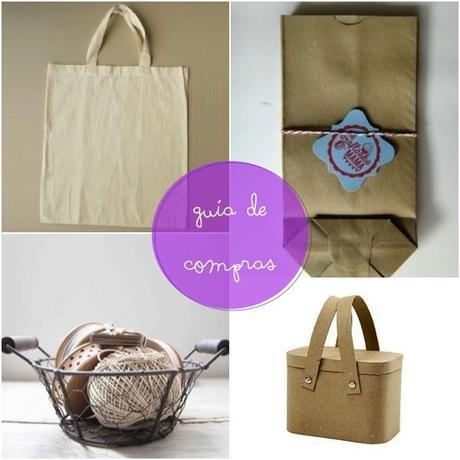 Wedding Welcome bag. Shopping Guide