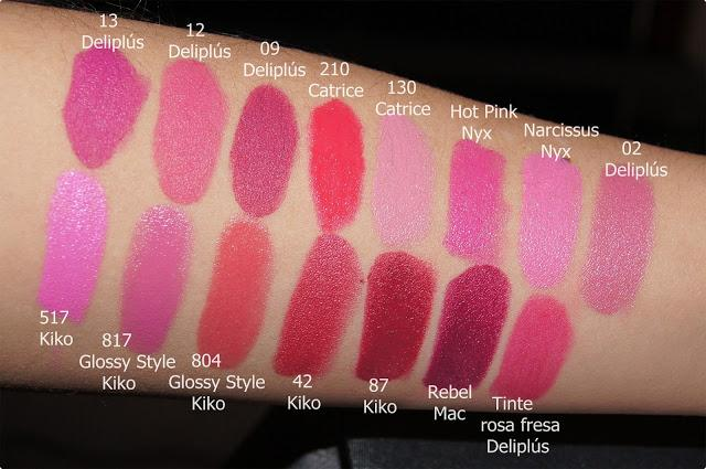 Rese a mis labiales rosas paperblog for Pintalabios granate oscuro mate