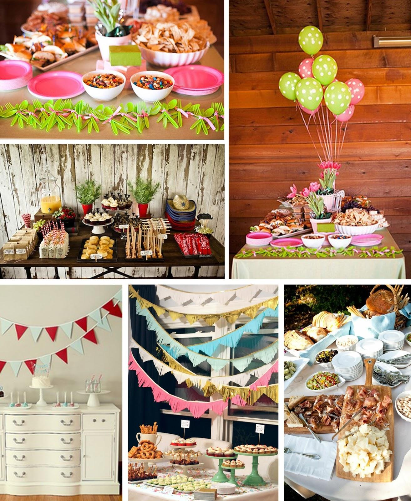 Detalles para una fiesta infantil paperblog - Ideas para decorar un cumpleanos de adulto ...