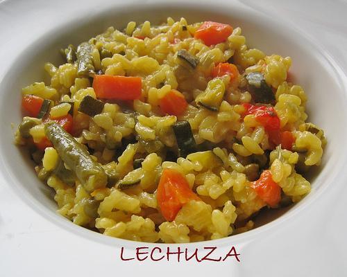 Cocina b sica arroz con verduras paperblog - Arroz con pescado y verduras ...