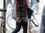 Lady Gaga vista caminando mucho estilo calles Nueva York